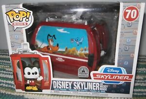 Disney Skyliner with Mickey Mouse Funko Pop ride vinyl figure Boxed New
