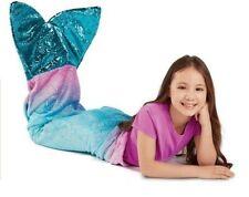 Tail Blanket Plush & Playful 55-Inch Mermaid - Blue Jay Franco & Sons NEW