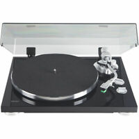 Teac TN-350-MB 2-Speed Belt-Drive Turntable with S-shaped Tone Arm (Black)