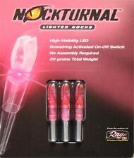 Nockturnal S Pink 3 Pack - Lighted Nocks