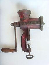 1900's Antique German Kitchen Meat Grinder Alexanderwerk  # 8   Marked
