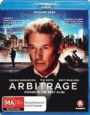 Arbitrage (Blu-ray, 2013) Brand New & Sealed - Fast & Free Shipping -