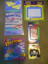Toy Lot Car Stickers Racing Video Game Dinosaurs Spiderman Cell Magnetic Draw 3+