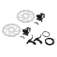 Bicycle Bike Mechanical Disc Brake Front and Rear 160mm whit Bolts and Cable