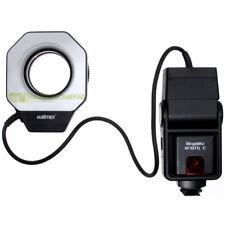 Flash anulare Walimex RF18 Macroflash per riprese macro TTL x Canon a pellicola
