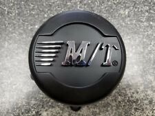 (1)  M/T Mickey Thompson Wheel Center Cap  Matte Black Finish w/Chrome 12001580F