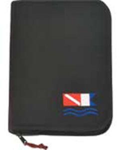 Log Book Low Profile Mini Binder Scuba Diving Dive BK w/Flag LB0141
