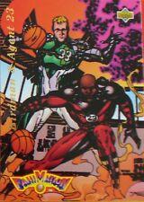 CARTE  NBA BASKET BALL 1993  FAMANIMATION ILLUSTRATION BIRDMAN & AGENT 23 (90)