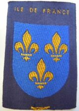 SCOUTS DE FRANCE PARIS ILE DE FRANCE patch insigne tissu ORIGINAL ancien