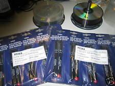 CD DVD Marker Original HEMA Rot & Schwarz 30 Stück NEU