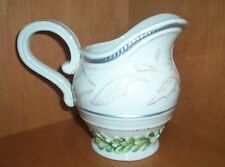 Fitz & Floyd 2009 Winter Garden Pitcher Creamer NWT