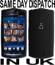 Silicona Negro Funda Para Sony Ericsson Xperia Neo
