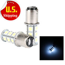 2 x T25/S25 1157 Bay15d 18-SMD 5050 LED Tail Brake Stop Light Bulb Cold White HS