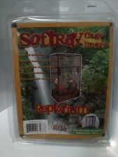 Softray Cage Liner Clear 38 Gallon Tall Reptile