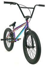 "Elite 20"" BMX Destro Bicycle Freestyle Bike 3 Piece Crank Neo Chrome NEW 2020"
