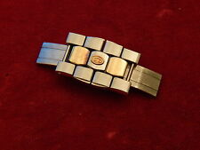 GENUINE CONCORD 18K / STEEL MARINER BAND BRACELET 12MM LINK DEPLOYMENT BUCKLE
