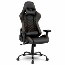 Artiss Racing Recliner Executive Gaming Office Chairs - Black