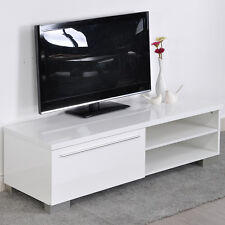 TV Stand Entertainment Center Media Console Furniture Storage Wood Cabinet Home