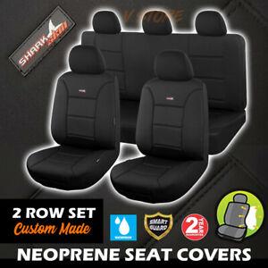 SharkSkin Neoprene Seat Covers Nissan Navara D23 DP300 ST ST-X RX 3/2015-10/2017