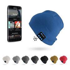Cálido Gorro Gorra Gorro de cabeza de Música Inalámbrico Bluetooth Auricular Auriculares Altavoz UK