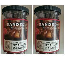2* 36 oz SANDERS Dark Chocolate Sea Salt Caramels, Fine Chocolates
