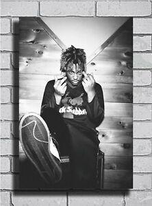 B-467 New Juice WRLD Hip Hop Rapper Music Poster Art Fabric 40 24x36