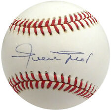 Willie Mays Autographed Signed NL Baseball San Francisco Giants Beckett S05099
