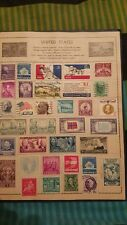 Stamp collection from around the world