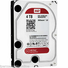 "WD40EFRX HD 3,5"" WESTERN DIGITAL RED 4TB SATA3 6Gb/s 64MB x NAS Hard Disk 4 TB"