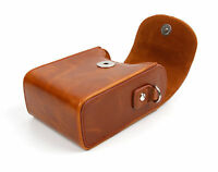 Faux Leather Case in 'Vintage' Brown for Kodak Pixpro FZ53 Camera