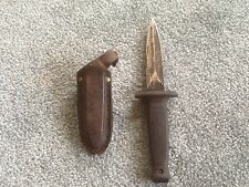 Frost Cutlery ~ Boot or Belt Dagger/Knife with Sheath - Vintage