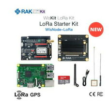 LORAWAN STARTER KIT: RAK2245 Pi & Raspberry Pi 3B + 16G micro SD+ RAK6243-860MHZ