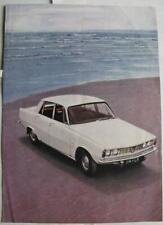 ROVER 2000 Car Sales Brochure c 1966
