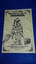 LIBRO LOS 100 NUMEROS DE LA CHARADA CHINA (yoruba-religion-ifa-santeria-