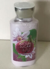 NEW! BATH & BODY WORKS SHEA & VITAMIN E BODY LOTION - BROWN SUGAR & FIG