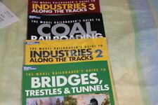 LOT OF 4 MODEL TRAIN BOOKS Railroads , N Scale