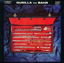 GUNILLA VON BAHR FLUTE CPE BACH Bashmakov Ginastera  BIS LP 6
