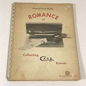 Romance of Collecting Case XX Knives 1972 Pictorial Price Guide VTG Spiral Bound