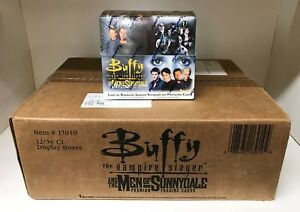 Buffy the Vampire Slayer Men of Sunnydale - Sealed 12 Box Case - Inkworks 2005