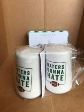 Gartner Studios Haters Gonna Hate Salt And Pepper Shakers.