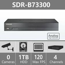 Samsung SDR-B73300N 4 Channel HD 1TB Security DVR Only (No Power Adapter)