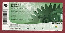 Orig.Ticket    WM BRASILIEN 2014   PORTUGAL - DEUTSCHLAND // Spiel 13  !!  A