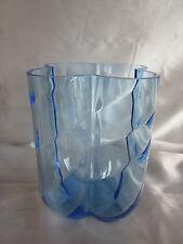 Vintage Orrefors Blue Vase