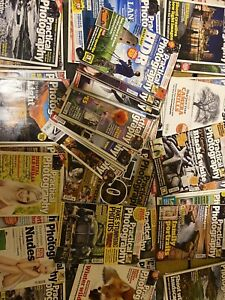 Collecion of Over 40 practical photography magazines Excellent condition 2007-12