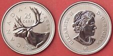 Specimen 2014 Canada 25 Cents From Mint's Set