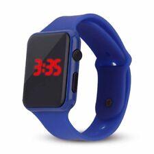 Boys Girls Sport Unisex Band Women Silicone Fashion Watch LED Wrist Digital