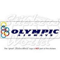 OLYMPIC AIRWAYS, Linee Aeree, Aviazione Adesivo in Vinile Sticker