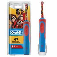 Oral-b Livelli Bambini Elettrico Spazzolino Ricaricabile, Disney Incredibili 2