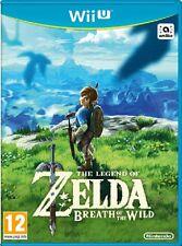 THE LEGEND OF ZELDA: BREATH OF THE WILD PER NINTENDO Wii U NUOVO UFF. ITALIANO