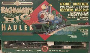 RARE VINTAGE 09-0100 BACHMANN BIG HAULER G SCALE TRAIN STARTER SET RADIO CONTROL